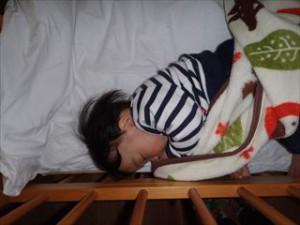 ぐっすり眠って大きくなってね ずっと見守っているよ
